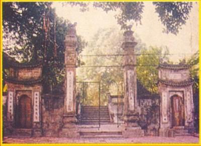 Đình làng Ước Lễ xưa