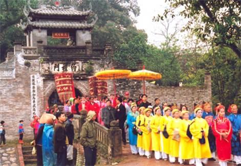 Hội làng Ước Lễ (Ảnh: http://sovhtt.hanoi.gov.vn/)