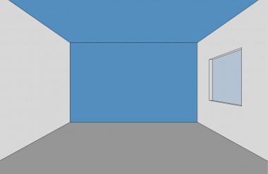 Nới rộng chiều ngang không gian