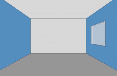 Thu hẹp chiều ngang không gian