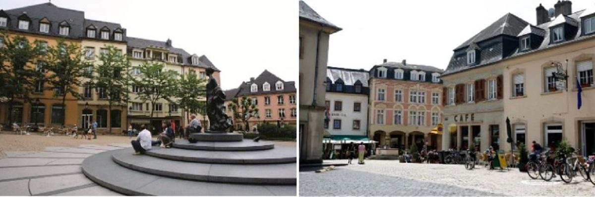 """Khu trung tâm của Luxembourg không nhất thiết phải có những công trình nổi tiếng, cổ xưa hay đặc sắc. Chính quyền bảo tồn toàn bộ """"không khí"""" của những ngôi nhà và hoạt động sinh hoạt nơi đây vẫn bình lặng như hàng thế kỷ trước."""