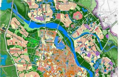 Quy hoạch chung xây dựng Thủ đô tầm nhìn đến năm 2050 (Ảnh: TL).