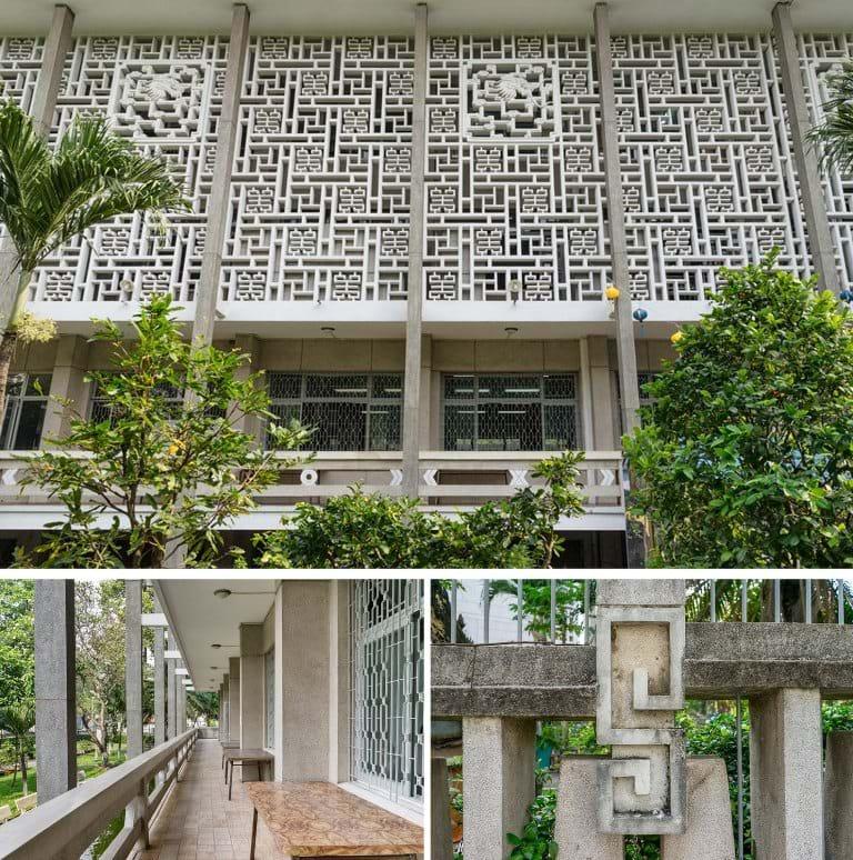 Kiến trúc Thư viện Khoa học tổng hợp. (Ảnh: Flickr)