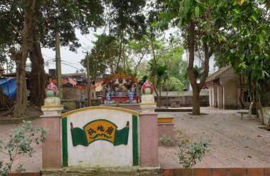 Cảnh quan khu vực đền (quán) Ông thờ lục vị thành hoàng