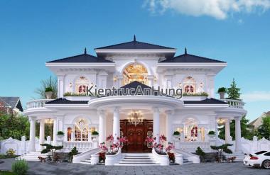 Phong cách kiến trúc biệt thự độc đáo riêng có cho mỗi gia chủ