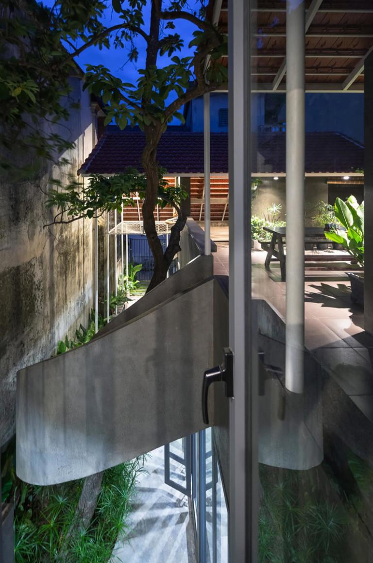 Cầu thang là điểm nhấn hoàn hảo cho công trình