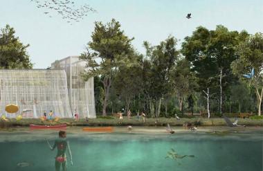 Khu San Cristoforo sẽ trở thành một tuyến đường thủy giúp làm sạch mạch nước ngầm.