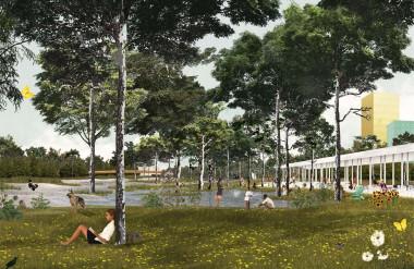 """""""Quy mô phát triển của dự án phụ thuộc vào sự phát triển kinh tế trong tương lai của thành phố""""."""