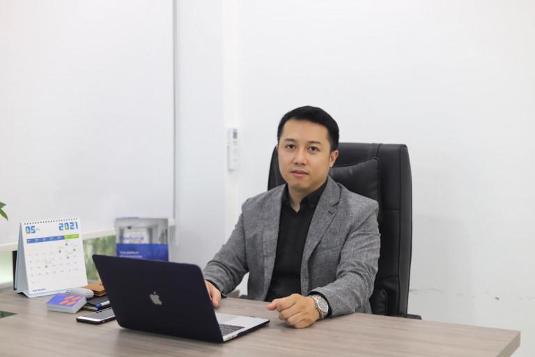 Anh Trần Quốc Huy - Giám đốc công ty cổ phần giải pháp nội thất Flexhome