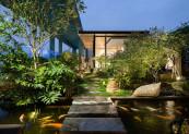 Diện tích khu vườn của gia đình anh Dũng là 110 m2.