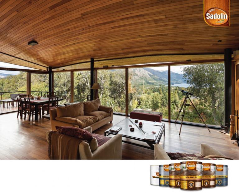Sadolin là giải pháp bảo vệ chuyên nghiệp cho đồ gỗ nội thất cao cấp