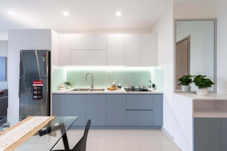Lựa chọn những thiết bị bếp phù hợp với thiết kế và có chất lượng tốt.