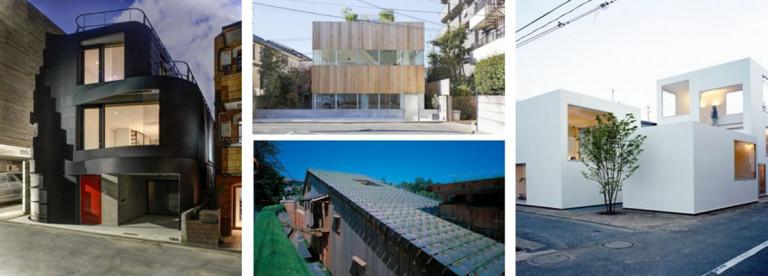 Nhà ở theo hướng kiến trúc đương đại, sử dụng vật liệu thân thiện, áp dụng mô hình mái xanh, kiến trúc tối giản tại Nhật Bản