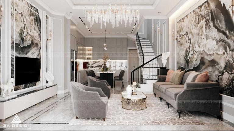Phong cách tân cổ điển mang đến cho gia chủ một không gian sống thoải mái, đơn giản nhưng vô cùng tinh tế