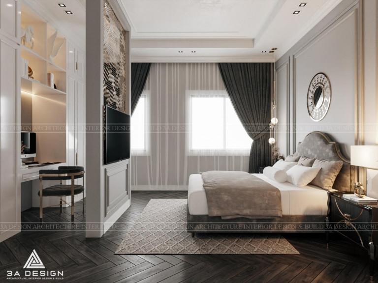 Sự kết hợp của các tông màu trầm: trắng, nâu, xám, đen… mang lại vẻ đẹp sang trọng, quý phái và lịch lãm