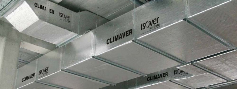 Hệ thống thông gió, điều hòa không khí sử dụng ống gió HVAC Climaver, cung cấp không khí trong lành, đảm bảo tiện nghi nhiệt và âm thanh tốt nhất cho cư dân tòa nhà
