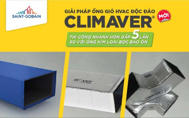 Với ưu thế thi công nhanh ống gió HVAC Climaver mang đến nhiều lợi ích kinh tế cho chủ đầu tư
