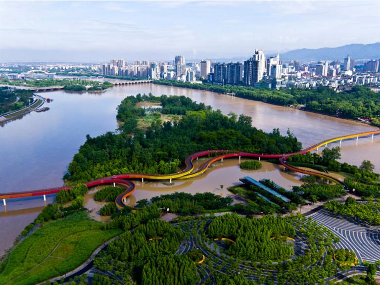 Công viên Yanweizhou (Nguồn turenscape.com)