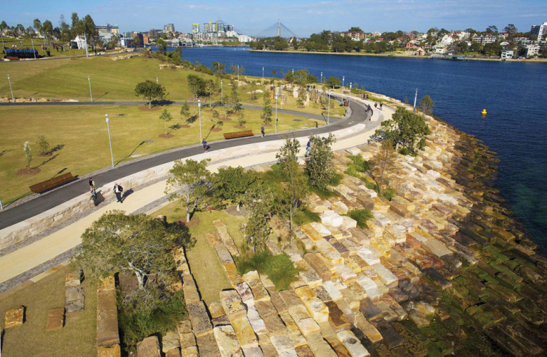 Khu bảo tồn Barangaroo (Nguồn: architectureau.com)