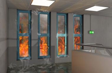 Ứng dụng chống cháy với mục tiêu cô lập ngọn lửa, ngăn cháy lan