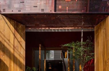 Khung thép đảm bảo an ninh, riêng tư cho công trình...