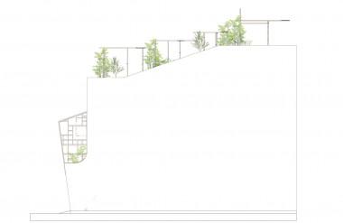Bản vẽ hông nhà.