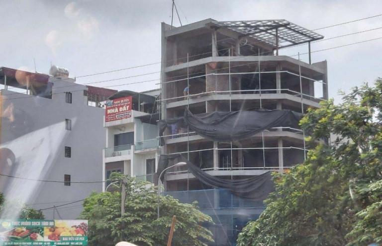 Tình trạng xây dựng trái phép, sai phép tại Hà Nội vẫn đang là vấn đề nhức nhối (Ảnh: Duy Phường)