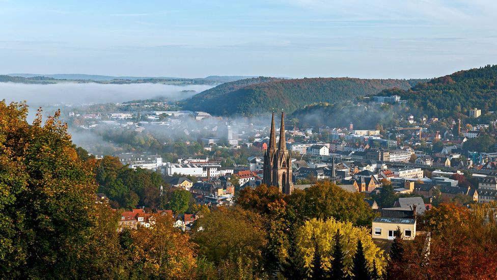 Marburg có môi trường sống lý tưởng cho người mù, người khiếm thị. Ảnh: BBC.