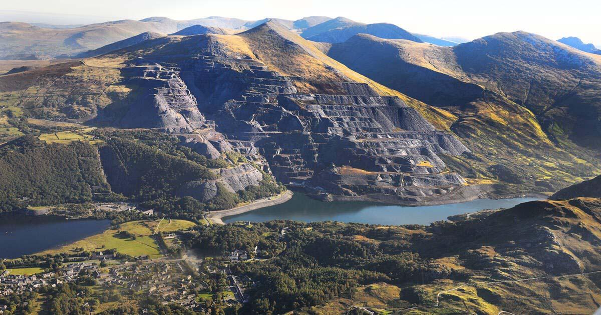 Những khu mỏ ở vùng Snowdon. (Nguồn: UNESCO World Heritage Centre)