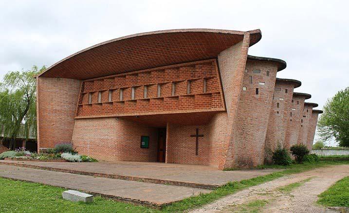 Nhà thờ Atlántida. (Nguồn: archleague.org)