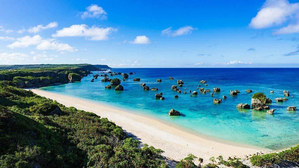 Phong cảnh tại một hòn đảo phía Nam của Nhật Bản. (Nguồn: Steppes Travel)