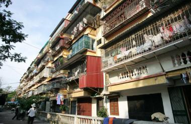 Cải tạo chung cư cũ theo hướng bảo tồn là một giải pháp cần nghiên cứu xem xét.