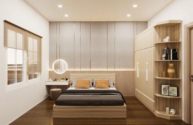 Nội thất phòng ngủ hiện đại với màu Lux 02